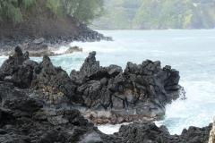 Stillehavest-Lava-kyst