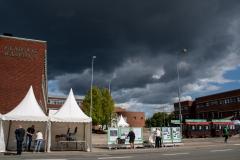 Det trækker op til Gladsaxedag. Foto:Karen Bjerggaard
