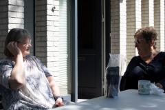 Dybsindig samtale? Foto: Lise Peltola