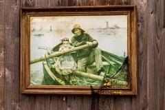 Kunst ved Fiskerihavnen. Foto: Lise Peltola