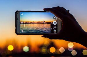 Smartphone-fotografering