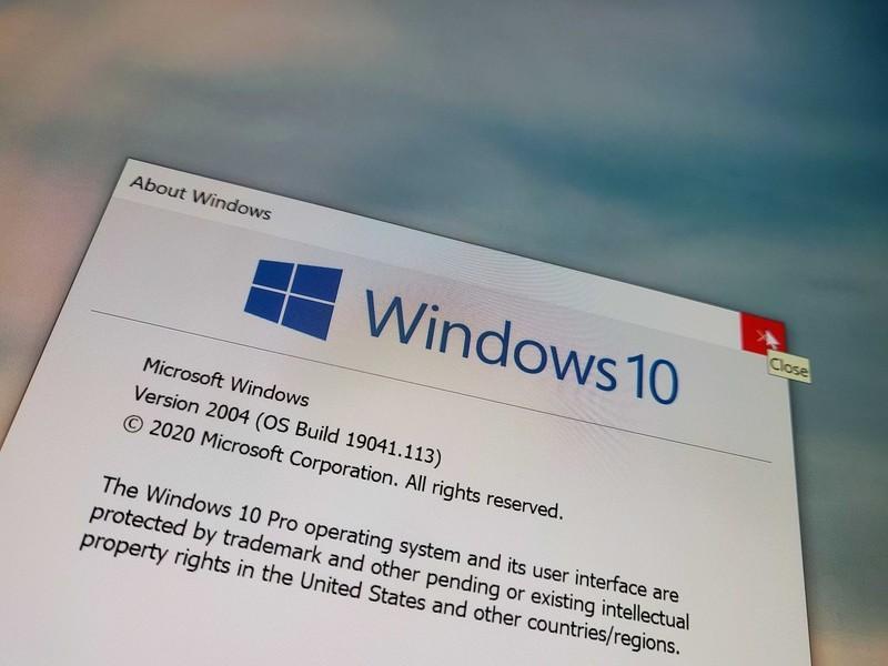 Den nye halvårlige opgradering af Windows 10 - version 2004.