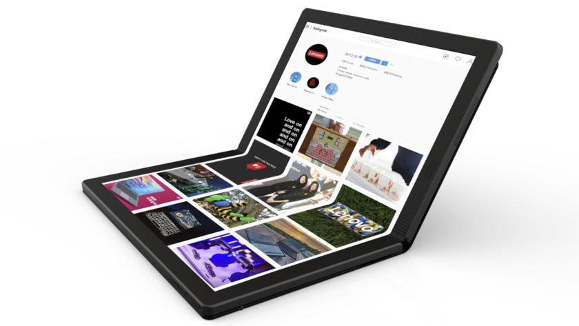 En Lenovo foldbar pc.