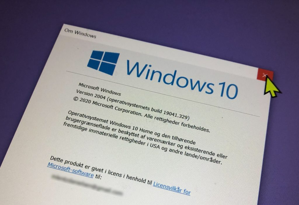 Den nye Windows 10 version 2004-opgradering er kommet.