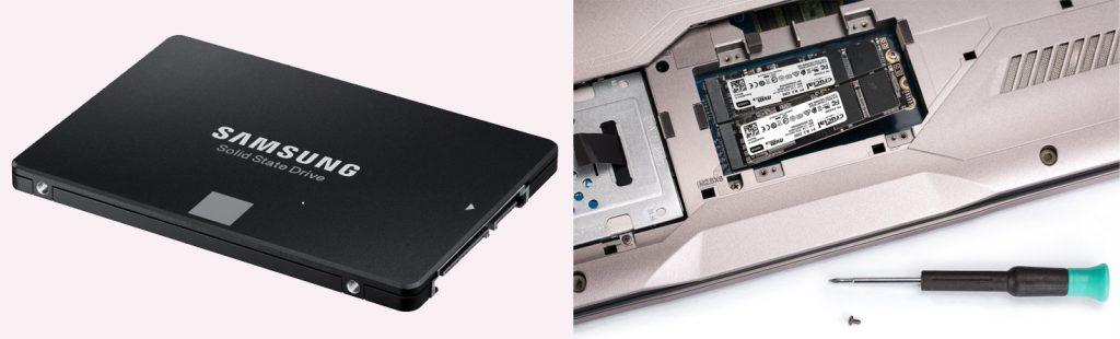 Der er kommet nye lagringsmedier i form af SSD'er - både i harddiskformat og til PCIe-bussen i M.2- eller NVMe-formaterne.