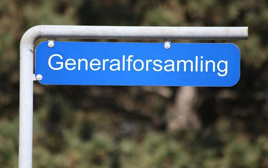 Der er indkaldt til ekstraordinær generalforsamling.