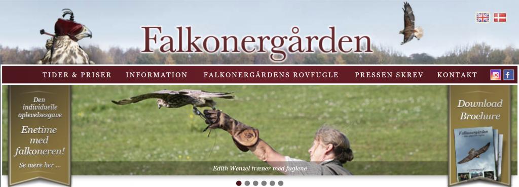 Klik herover for at gå til Falkonergårdens hjemmeside.