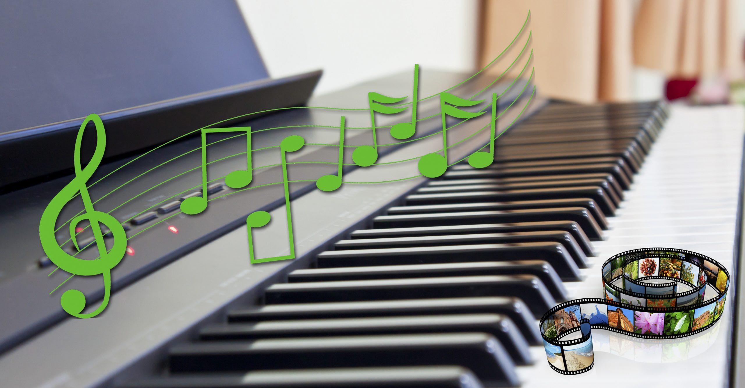 Benyt royaltyfri musik i dine videokreationer. Fotos: Colourbox. Redigering: Lars Laursen.